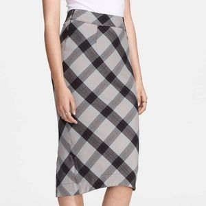FREE PEOPLE | Plaid Pencil Skirt | 4